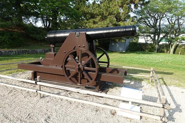 佐賀城24ポンドカノン砲