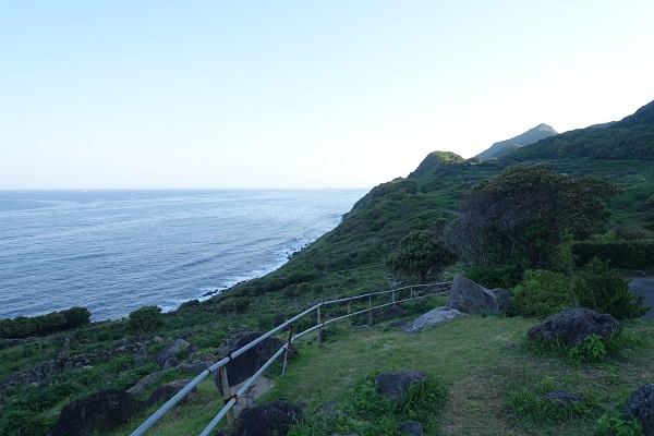 生月島サンセットウェイ海を臨む