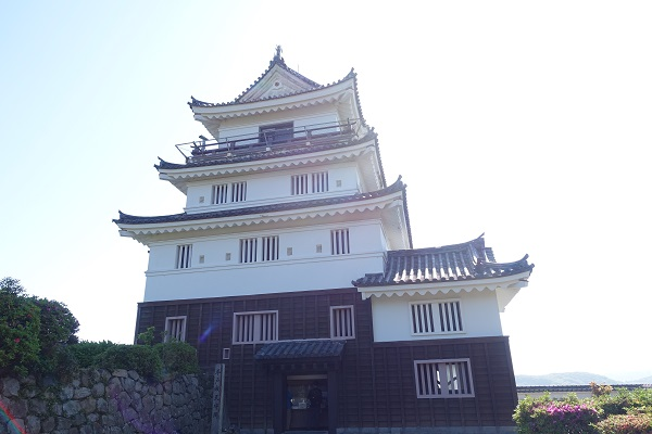 平戸城天守閣