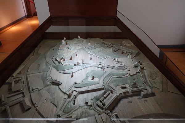 平戸城模型