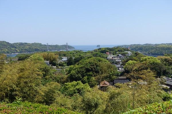 名護屋城東出丸からの景色