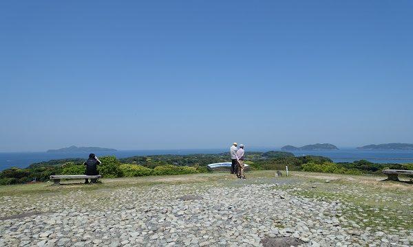 名護屋城天守台からの景色