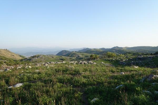 平尾台展望所からの景色