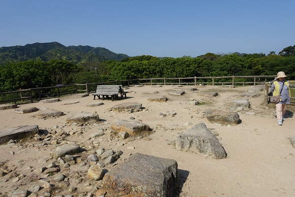 萩城天守台跡