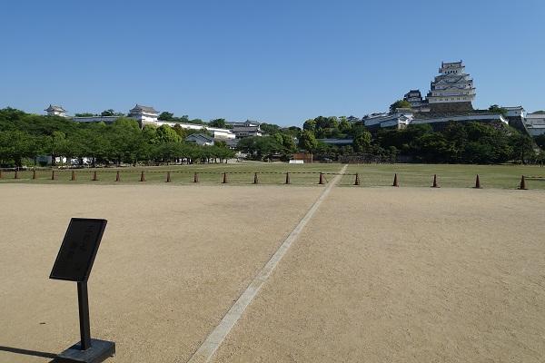 姫路城三ノ丸