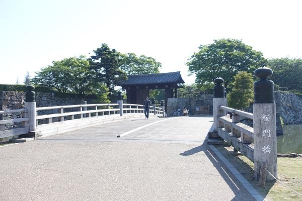 姫路城桜門橋