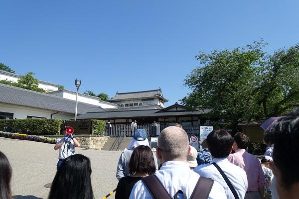 姫路城混み具合
