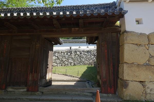 姫路城ろの門