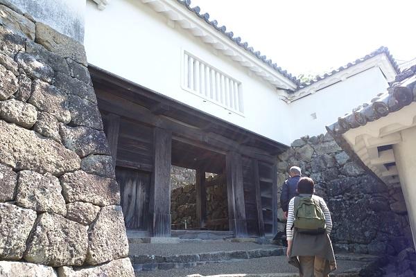 姫路城はの門