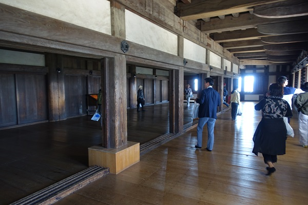 姫路城二階