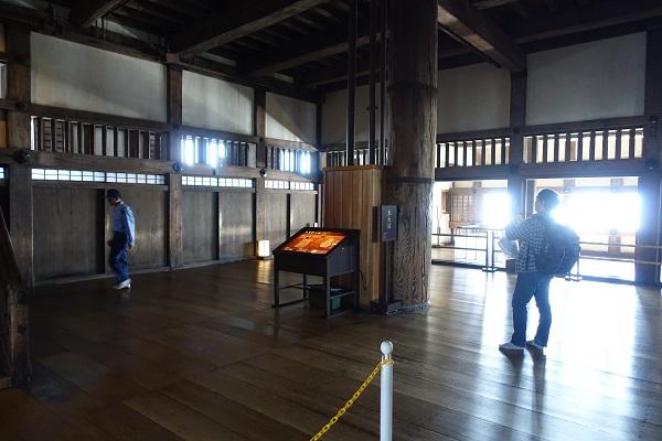 姫路城4階