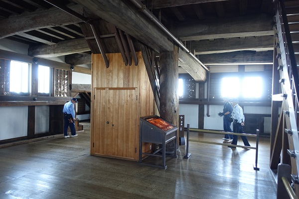 姫路城5階