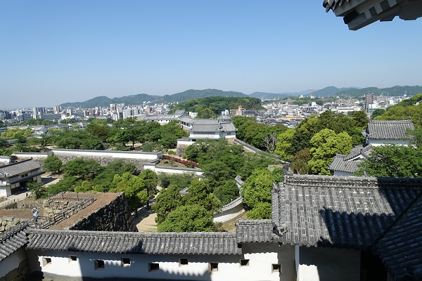 姫路城小天守からの景色その2