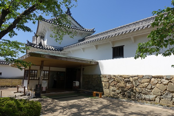 姫路城百問廊下