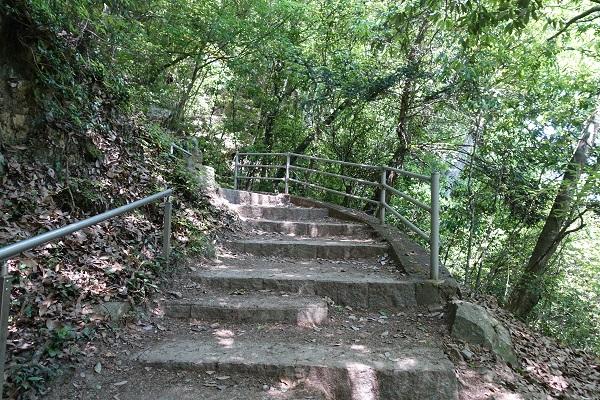 備中松山城登山道4