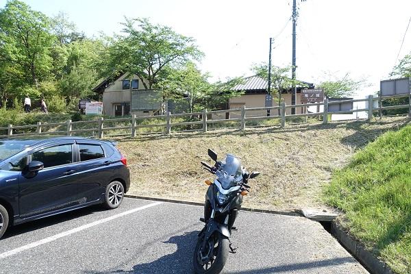 鬼ノ城駐車場