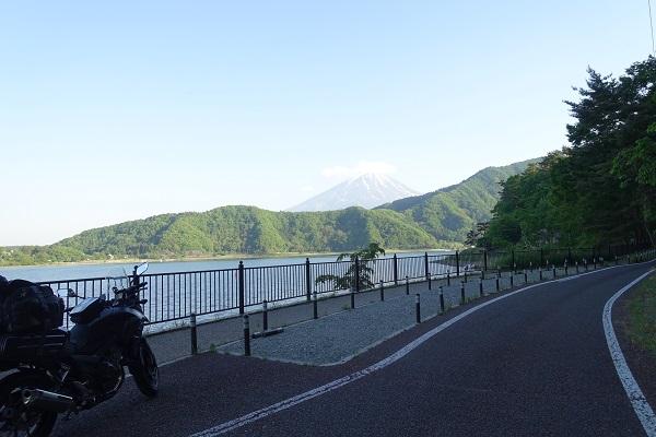 湖北ビューラインからの富士山