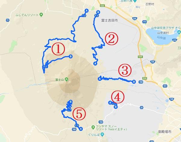 富士山ルート