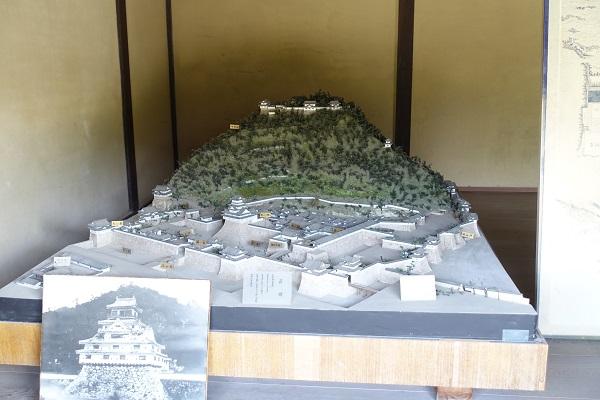 萩城(指月城)模型