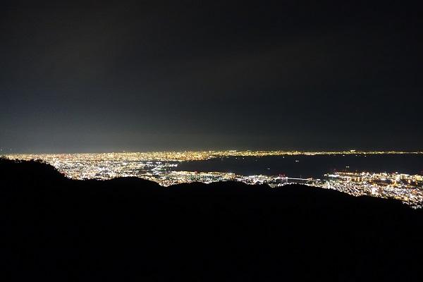 六甲山からの大阪側の夜景