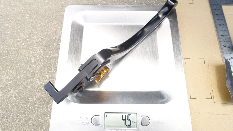 U-KANAYAツーリングレバーの重さ4.5