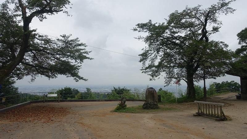 南曲輪からの景色