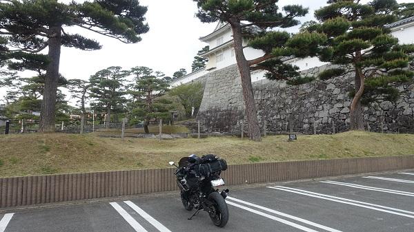 霞ケ城公園第一駐車場