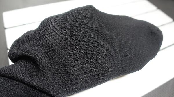 防水靴下:アウター生地