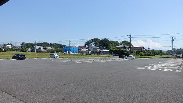 箕輪城跡駐車場